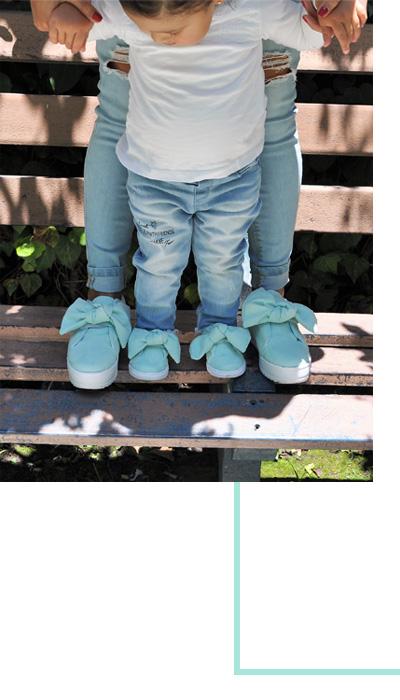ninakpilo zapatos para niña y mamá 100% mexicanos